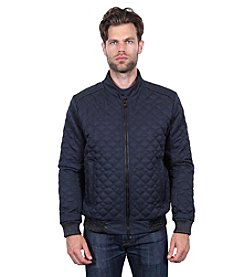 Tahari Quilted Bomber