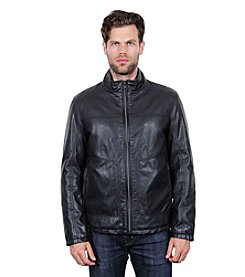 Tahari Faux Leather Jacket