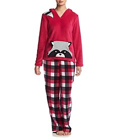PJ Couture® Hooded Pajama Set