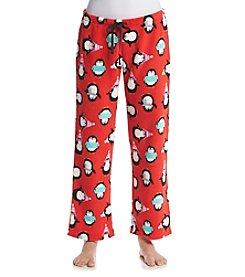 PJ Couture® Printed Fleece Pajama Pants