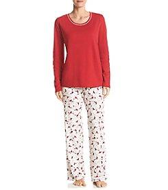 Intimate Essentials® Printed Pajama Set