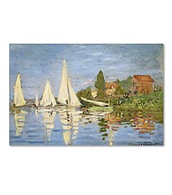 Trademark Fine Art Claude Monet 'Regatta at Argenteuil' Canvas Art