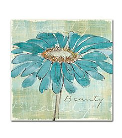 Trademark Fine Art Chris Paschke 'Spa Daisies I' Canvas Art