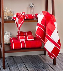 Lavish Home Oakville Velour Bath Towel Collection