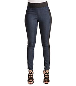 Poetic Justice Foxy Stretch High Waist Moto Jeans