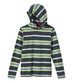 Ruff Hewn Boys' 8-20 Heathered Stripe Hoodie