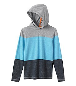 Ruff Hewn Boys' 8-20 Heathered Stripe Hoodie