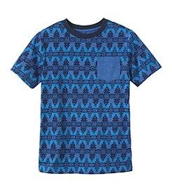 Ruff Hewn Boys' 8-20 Short Sleeve Aztek Pocket Tee