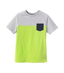 Ruff Hewn Boys' 8-20 Short Sleeve Colorblock Pocket Tee