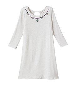 Jessica Simpson Girls' 7-16 Enya Necklace Dress