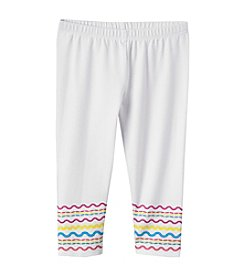 Mix & Match Girls' 2T-6X Ric-Rac Leggings