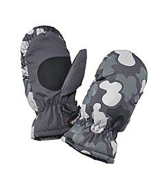 Mambo® Boys' 2T-4T Camo Print Ski Mittens