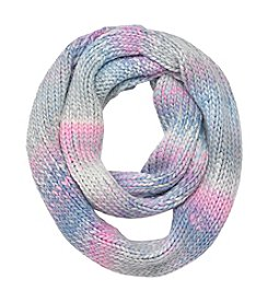 Miss Attitude Girls' 7-16 Pastel Space Dye Loop Scarf
