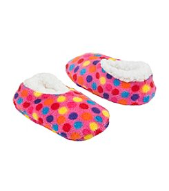 Miss Attitude Girls' Dotted Slippers