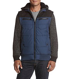 Distortion® Men's Long Sleeve Full Zip Vest with Hood