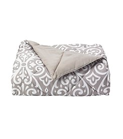 LivingQuarters Geo Down-Alternative Oversize Throw