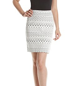 Kensie® Rib Pencil Skirt