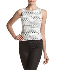 Kensie® Textured Top