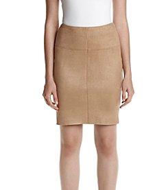 Kensie® Faux Suede Skirt