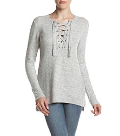 Kensie® Lace Up Sweater