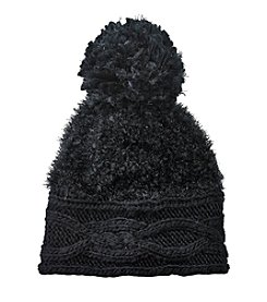 Cejon® Sparkle Pom Knit Beanie