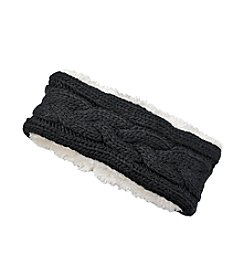 Cejon® Cable Knit Sherpa Headband