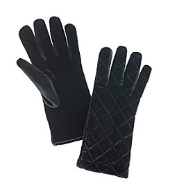 Cejon® Velvet Quilted Gloves
