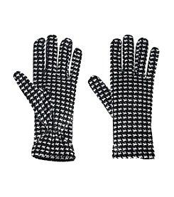 Cejon® Houndstooth Velvet Glove
