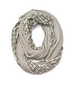 Cejon® High Shine Net Infinity Scarf