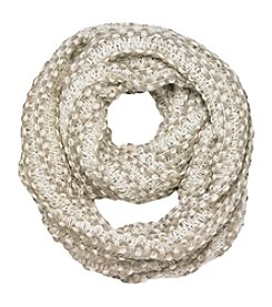 Cejon® Braid With Sequin Infinity Scarf