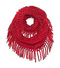 Cejon® Metallic Open Weave Scarf