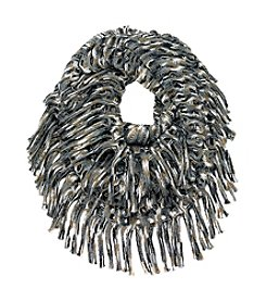 Cejon® Space Dyed Metallic Open Weave Scarf