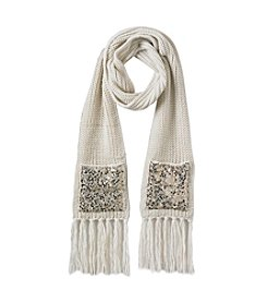 Betsey Johnson® Sequins Shine Muffler
