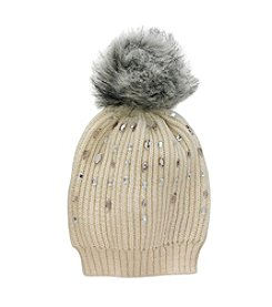 Betsey Johnson® B-Jeweled Beanie
