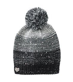 Betsey Johnson® Crystal Light Knit Beanie