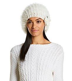 Betsey Johnson® Fuzzy Wuzzy Knit Beret