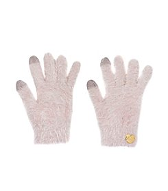 Betsey Johnson® Fuzzy I Touch Gloves