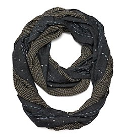 Basha Textured Sequin Scarf