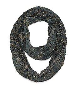 Basha Half Confetti Plaid Nubby Scarf