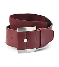 Fashion Focus Modern Prong Strap Belt