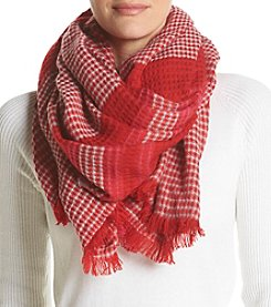 Echo Diamond Plaid Wrap