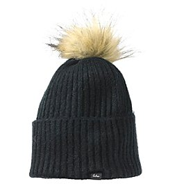 Echo Stretch Cuff Pom Hat