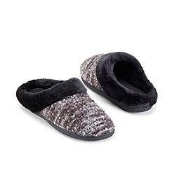 Isotoner Signature® Boucle Knit Slippers