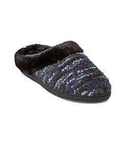 Isotoner Signature® Boucle Knit Slippers