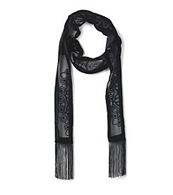 Collection 18 Medallion Magic Skinny Scarf
