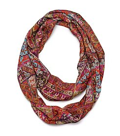 Collection 18 Paisley Tile Loop Scarf
