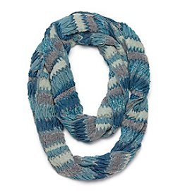 Collection 18 Multi Play Zigzag Loop Scarf