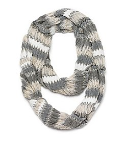 Collection 18 Multiplay Zigzag Loop Scarf