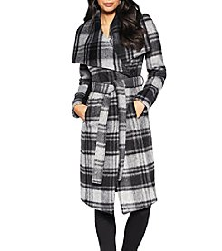 BCBG™ Long Wrap Coat