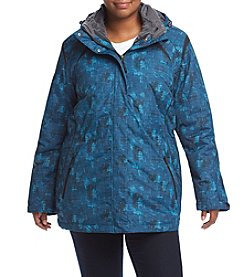 Below Zero Plus Size Crackle Anorak